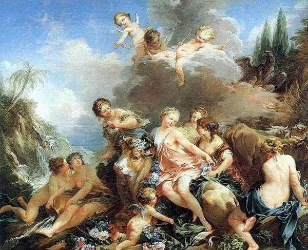ヨーロッパの拉致   Francois Boucher
