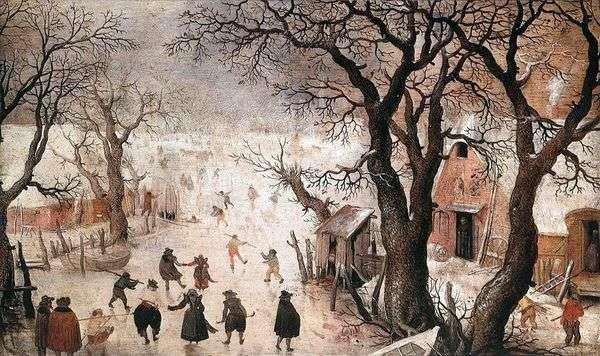 街の冬   Hendrick Averkamp