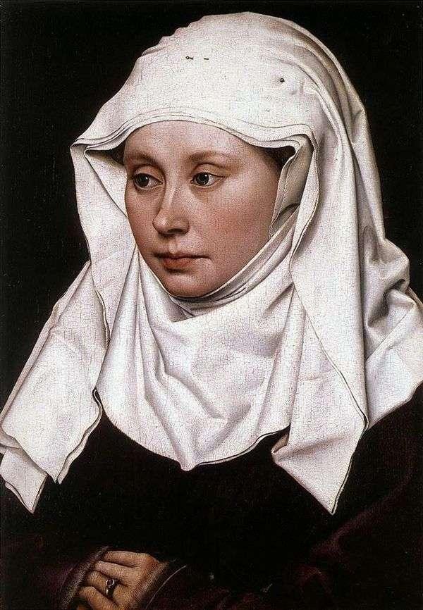 女性の肖像   ロバートカンペン