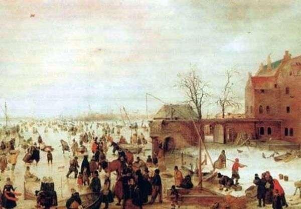 冬のお楽しみ   Hendrick Averkamp