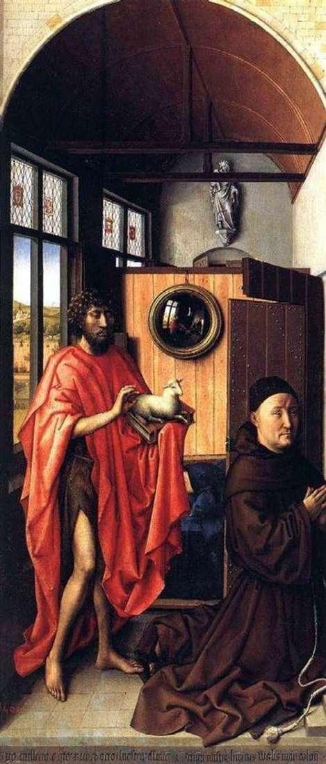 洗礼者ヨハネとハインリヒ・フォン・ヴェル   ロバート・カンペン