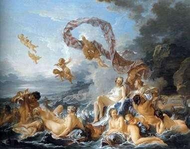 金星の誕生   フランソワ・ブーシェ