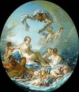 女神ヴィーナスの勝利   Francois Boucher