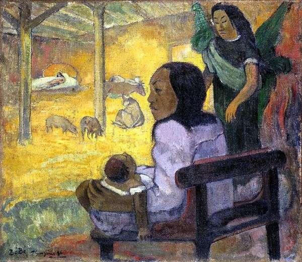 子(クリスマス)   Paul Gauguin