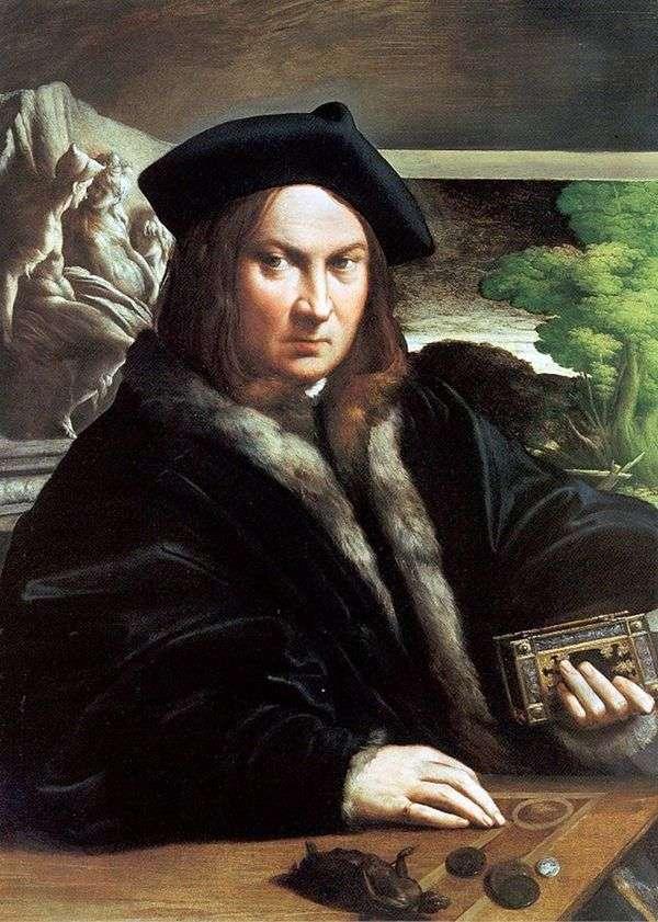 男の肖像   フランチェスコ・パルミジャニーノ