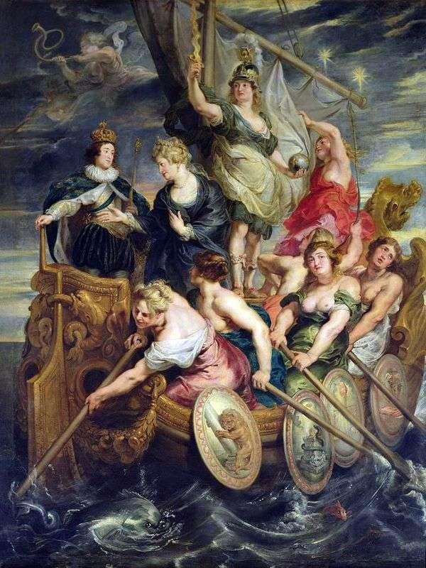 ルイ13世の祝祭   Peter Rubens