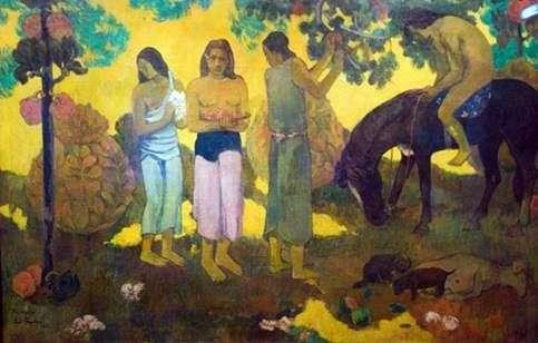 フルーツピッキング   Paul Gauguin
