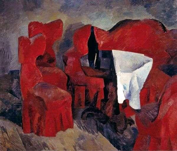 赤い家具   ロバートフォーク