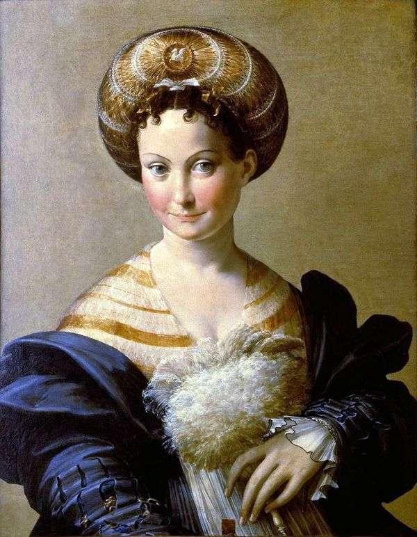 トルコ人奴隷   Francesco Parmigianino