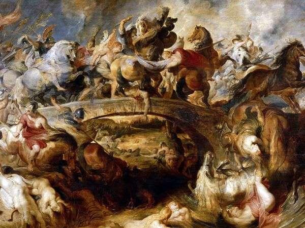 アマゾンの戦い   Peter Rubens