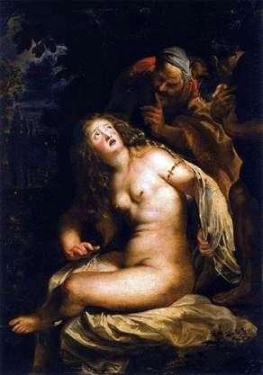 スザンナと長老   Peter Rubens