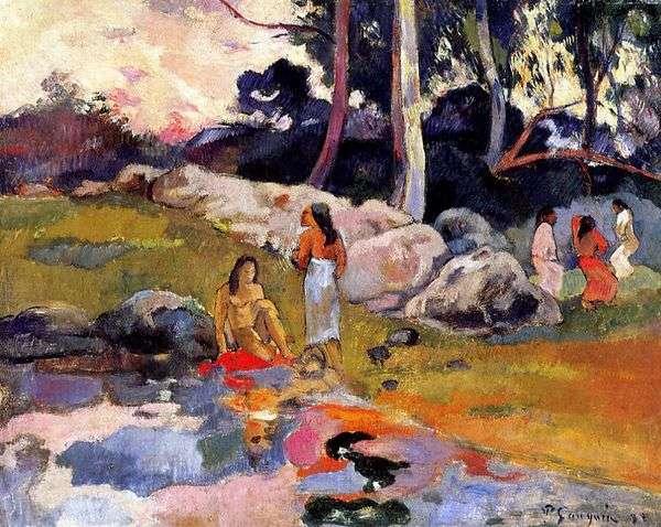 タヒチアンバイザリバー   Paul Gauguin