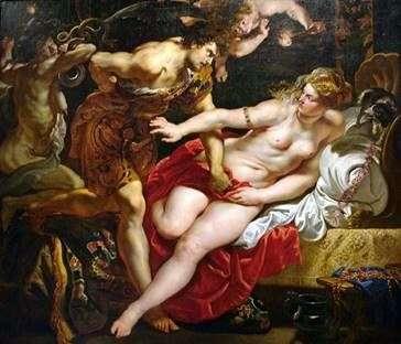 Tarquinius and Lucretia   ピータールーベンス