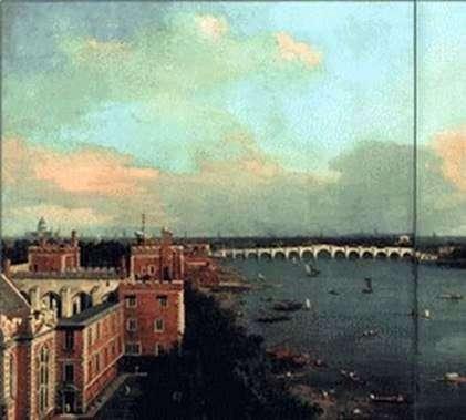 ロンドン   アントニオ・カナレットの眺め