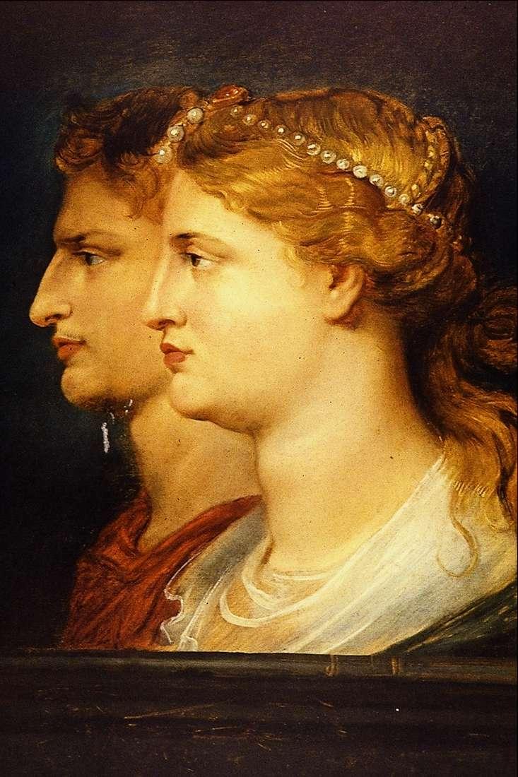 TiberiusとAgrippina   ピータールーベンス