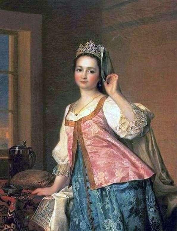 A. D. Levitskaya(Agashi)   Dmitry Levitskyの肖像