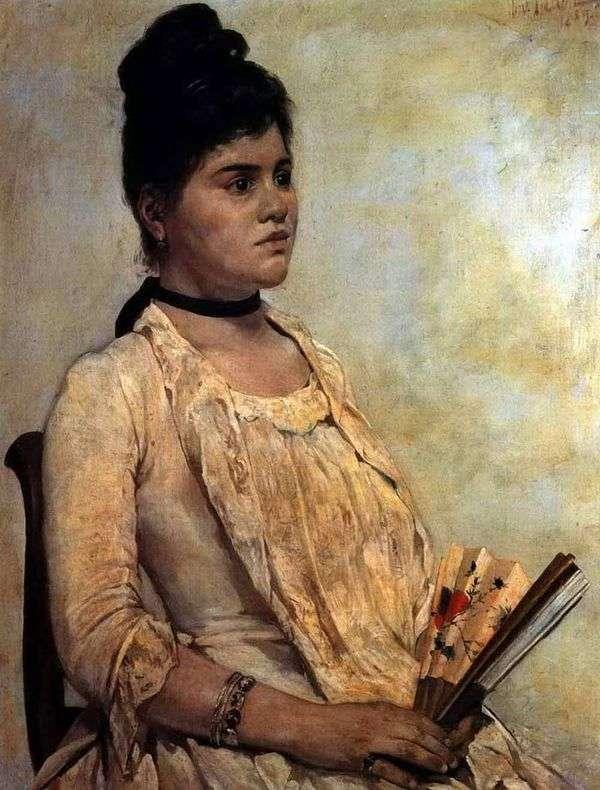継娘の肖像   ジョヴァンニ・ファットーリ