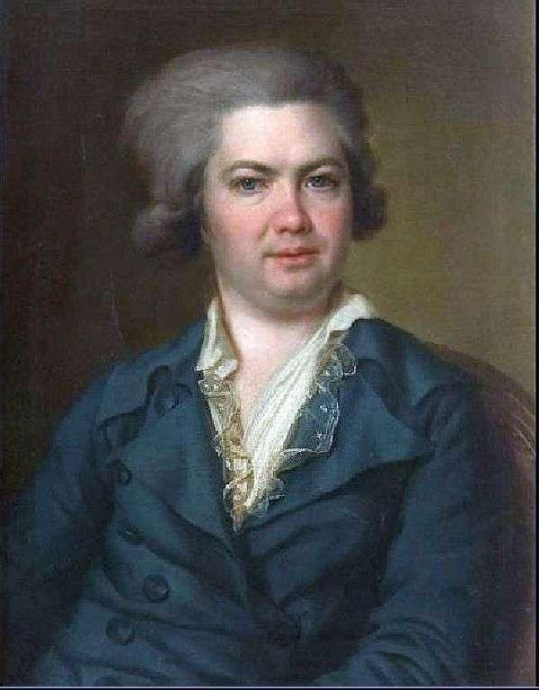 A. I. Vorontsov   Dmitry Levitskyの肖像画