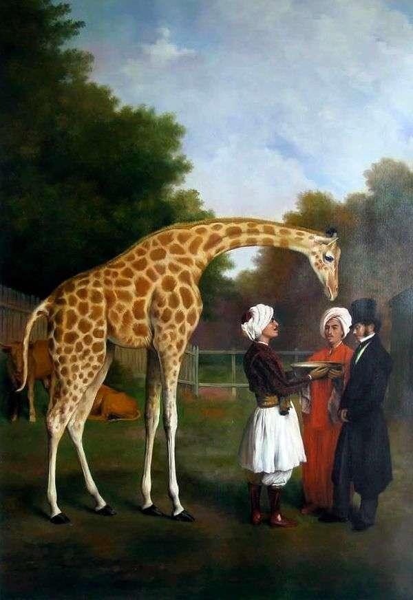Nubian Giraffe   ジャック・ローラン・アガッセ