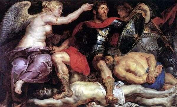 ビクトリアの勝利   Peter Rubens