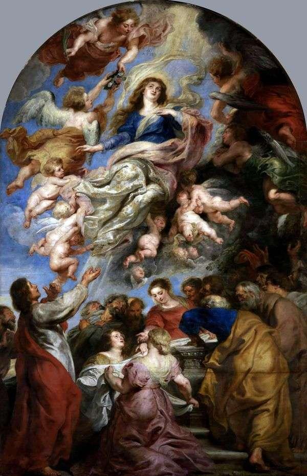 聖母マリアの仮定   ピータールーベンス
