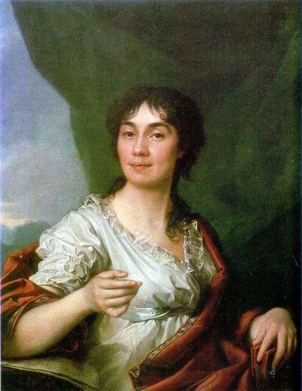 伯爵の肖像A. S. Protasova   Dmitry Levitsky