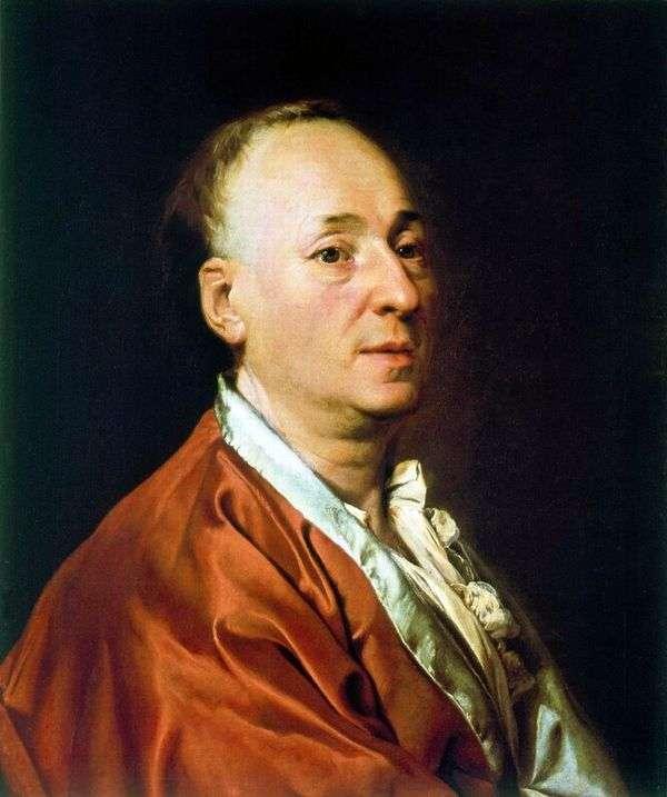 D. Didro   Dmitry Levitskyの肖像
