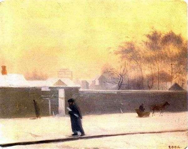 冬の日   パベル・フェドトフ