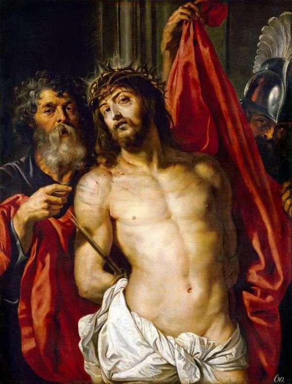 いばらの冠のキリスト   Peter Rubens