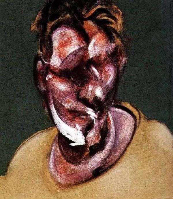 Lucien Freud   Francis Baconの肖像