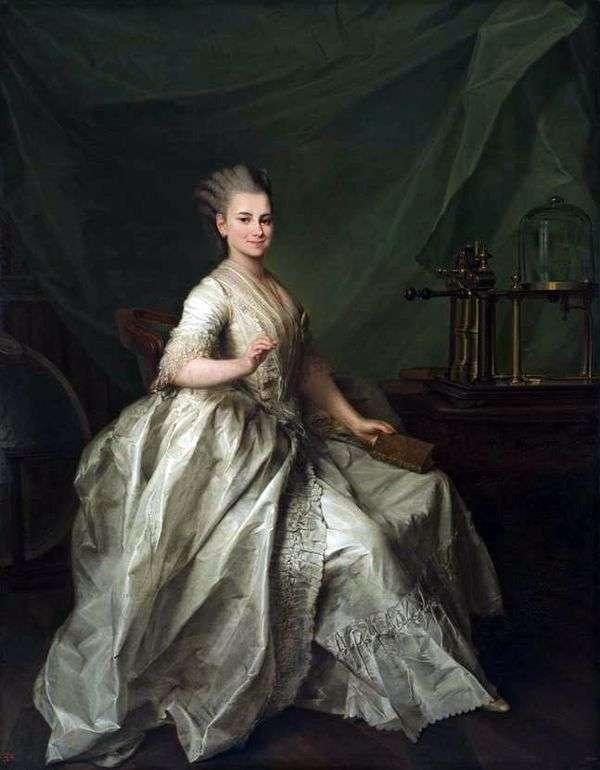 キャサリン・イヴァノヴナ・モルチャノヴァ   ドミトリー・レヴィツキーの肖像画