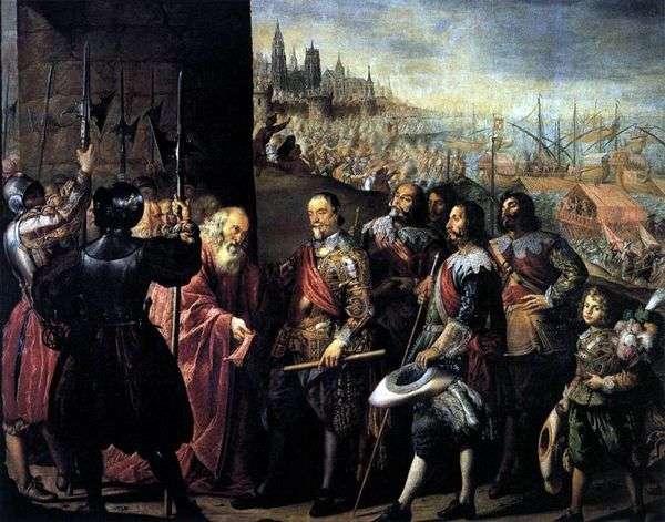 ジェノヴァを助ける   Antonio de Pereda