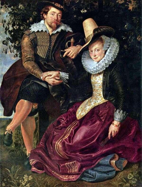 妻イザベラ・ブラントとのアーティスト   Peter Rubens