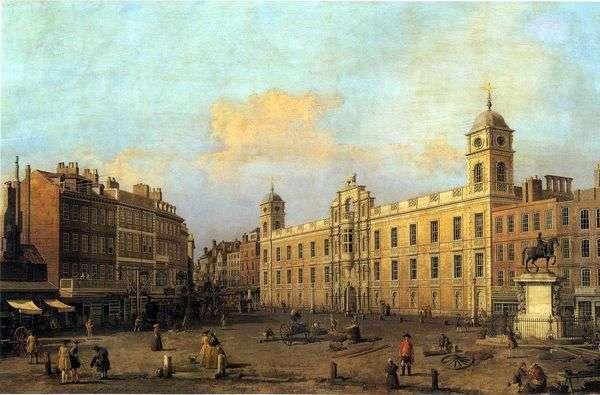 ロンドン、ノーサンバーランドハウス   Antonio Canaletto