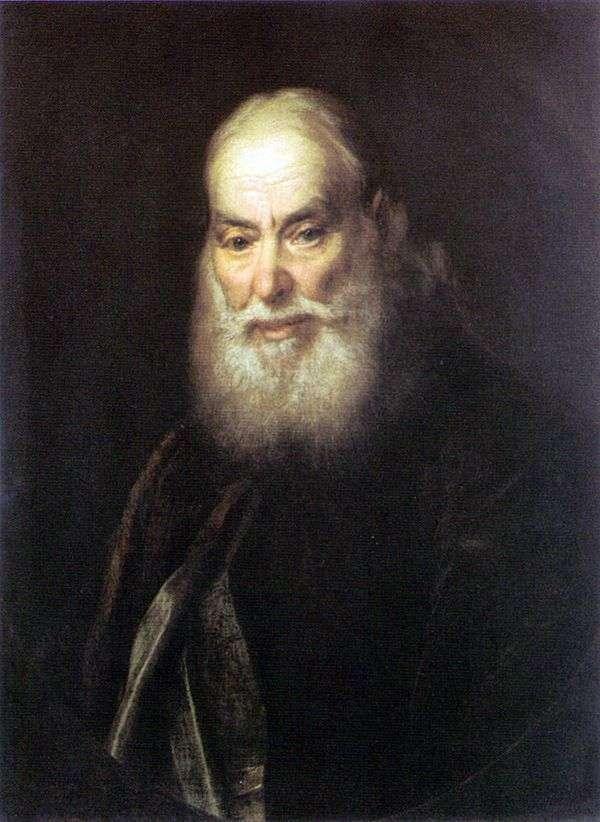G. Levitskyの肖像K(アーティストの父)   Dmitry Levitsky