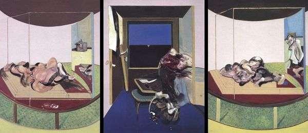TS Eliot   Francis Baconの詩のトピックに関するトリプティク