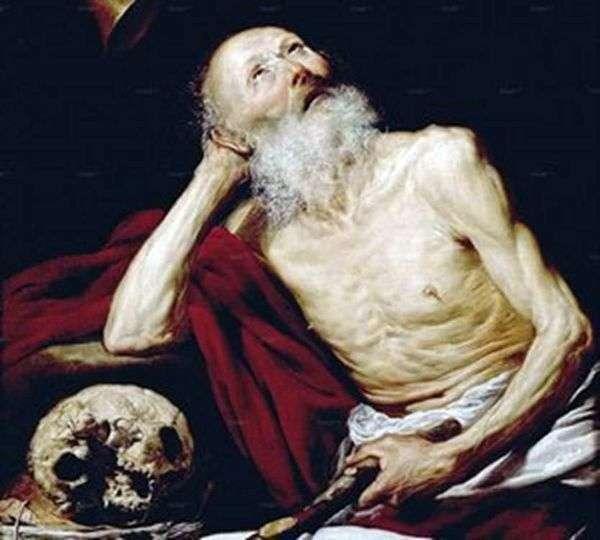 Saint Jerome   アントニオ・デ・ペレダとサルガド