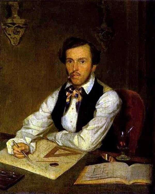 建築家の肖像   パベル・フェドトフ