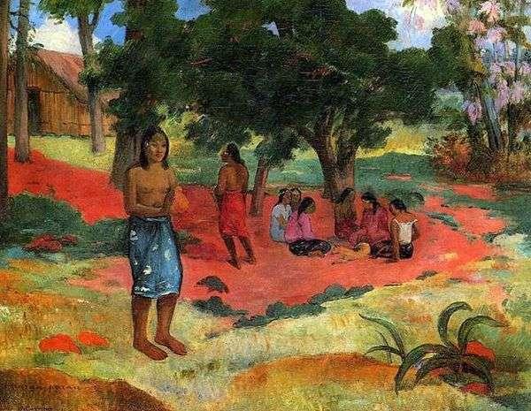 ささやきII   Paul Gauguin