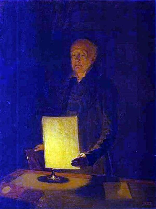 E. G. Fluga   Pavel Fedotovの肖像