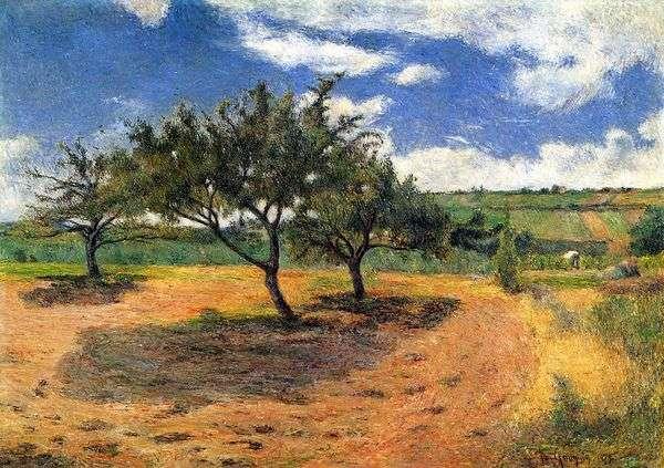 リンゴの木   ポール・ゴーギャン