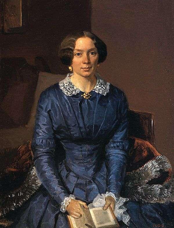 エリザベスZhdanovich Petrovna   パベルFedotovの肖像