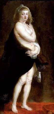 毛皮のコート(Elena Fourman)   Peter Rubens