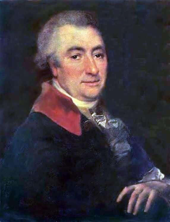 N. I. Novikov   Dmitry Levitskyの肖像