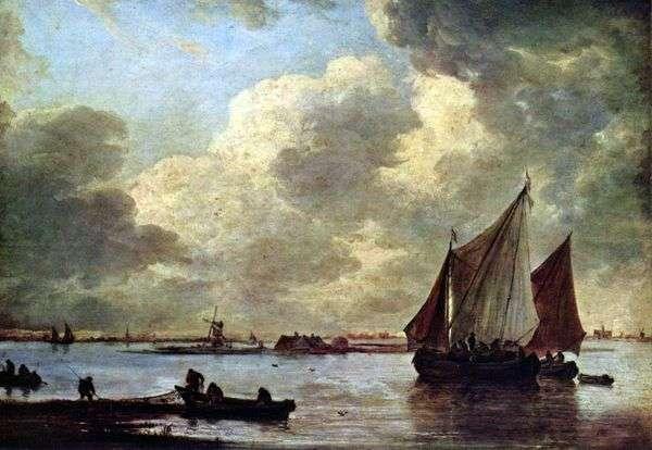 ハーレムの海   Jan van Goyen