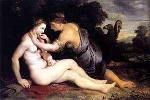 木星とカリスト   Peter Rubens