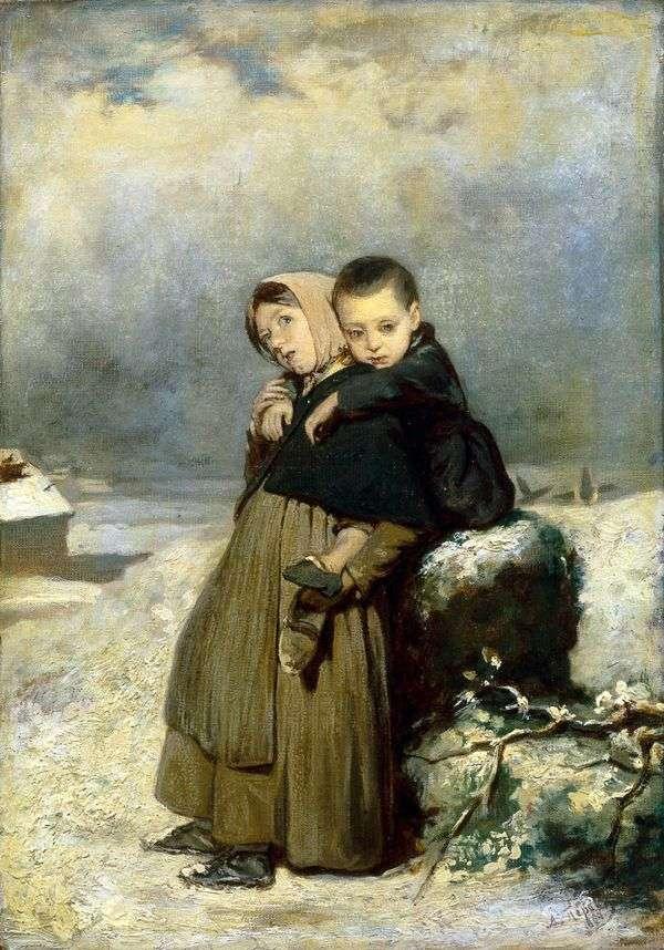 墓地の孤児   ヴァシリー・ペロフ