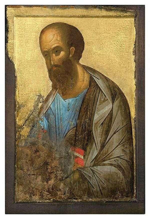 Deesisランクからの使徒パウロ   Andrey Rublev