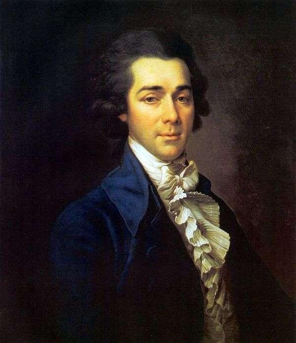 ニコライAleksandrovich Lvov   Dmitry Levitskyの肖像