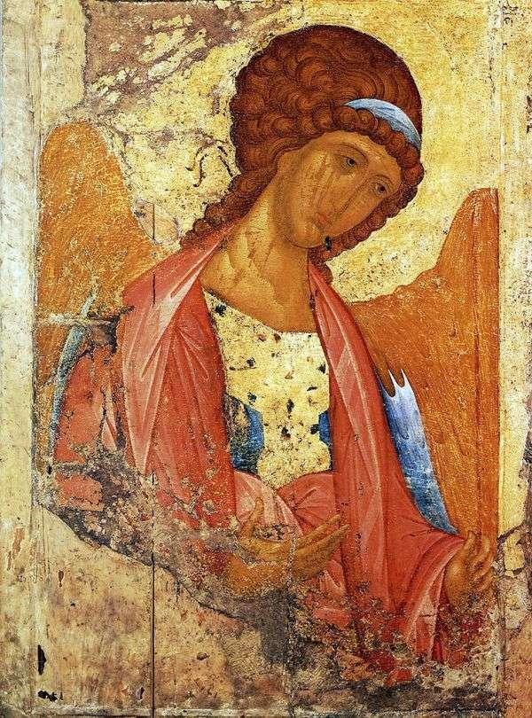大天使MichaelからDeesis Order   Andrei Rublev